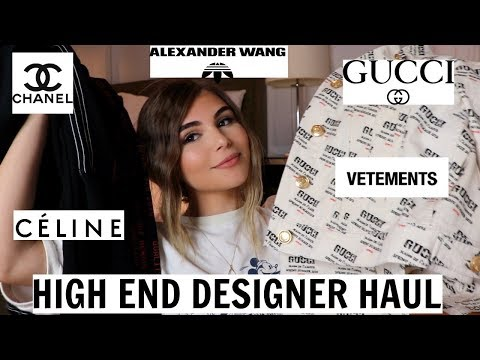 a few grand later... (high end/luxury clothing haul) l Olivia Jade
