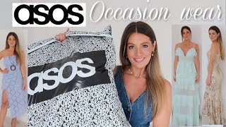 ASOS OCCASION WEAR DRESSES HAUL & TRY ON - WEDDING GUEST OUTFIT IDEAS