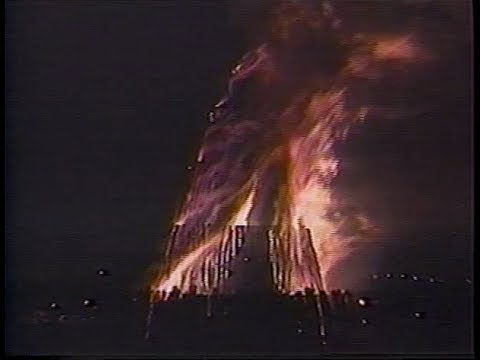 1996 Fightin' Texas Aggie Bonfire