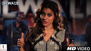 Dilwale | Candid Kajol | Shah Rukh Khan, Kriti Sanon, Varun Dhawan