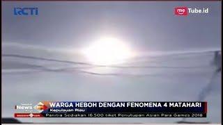 Heboh Kemunculan Fenomena '4 Matahari' di Kepulauan Riau - SIP 13/10
