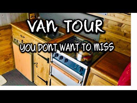 Transit Van To Camper Van. A Tour Of My Self Build Off Grid Stealth Camper