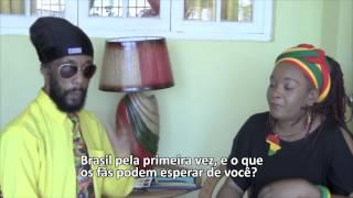 ENTREVISTA TINGA STEWART -  DIA 10 NO BRASIL