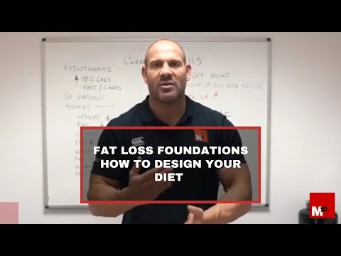 Fat Loss Foundations - How to design your diet