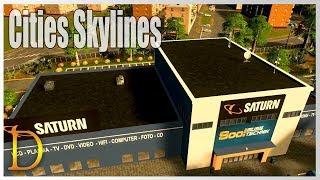 Cities Skylines #71 SKLEP DLA INWALIDÓW XD - Gameplay PL -