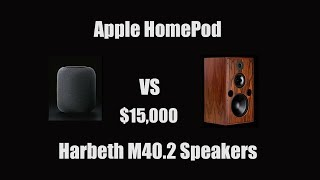 Apple HomePod vs $15,000 Speakers