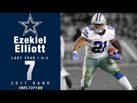 7 ezekiel elliott rb cowboys top 100 players of 2017 nfl
