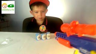 видео Детское оружие Нерф от Hasbro – любимая игрушка для мальчишек