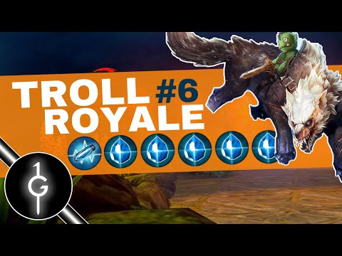 Fortress With That Bite | All Shatterglass Fortress - Troll Royale S2 E6