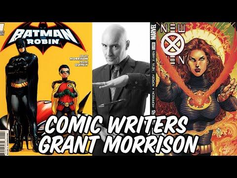 Comic Writers: Grant Morrison