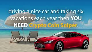 HOW TO MAKE MONEY WITH CRYPTO - CRYPTOCURRENCY TRADING - CRYPTO COIN SNIPER REVIEW