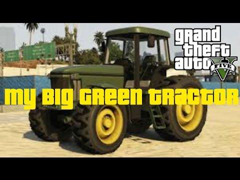My Big Green Tractor - GTA 5 Rockstar Editor