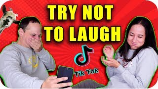 Tik Tok TRY NOT to LAUGH CHALLENGE
