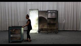 Meridian Upscale Trade Show Exhibit Set Up