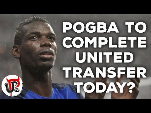 POGBA TO MAN UNITED WILL BE ANNOUNCED TODAY SAY ITALIAN PRESS!