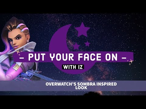 Sombra from Overwatch inspired look
