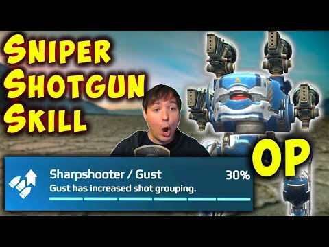 SNIPER SHOTGUNS: 30% Increased Shot Grouping Skill War Robot