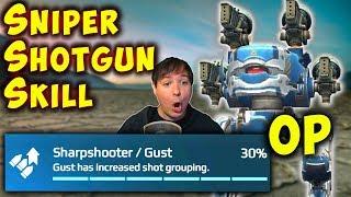 SNIPER SHOTGUNS: 30% Increased Shot Grouping Skill War Robots Gameplay WR