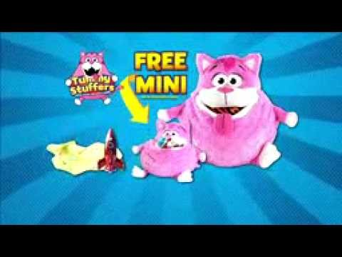 Tummy Stuffers As Seen On Tv Plush Toy Organizer Youtube