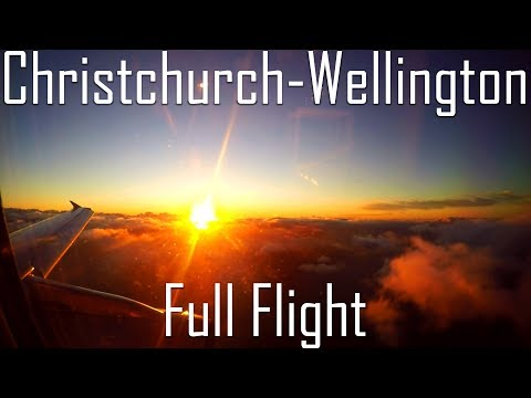 JQ290 | A320 | Full Flight from Christchurch to Wellington