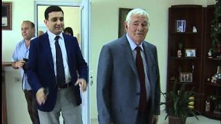 Leonid Roshal Visits the Izmirlyan St. Nersess the Great -- Hospital and Research Center