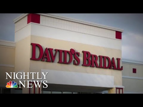 David's Bridal May Be Next Retail Company To Declare Bankruptcy | NBC Nightly News