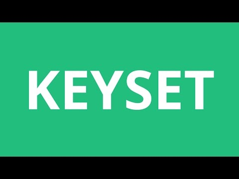 How To Pronounce Keyset - Pronunciation Academy