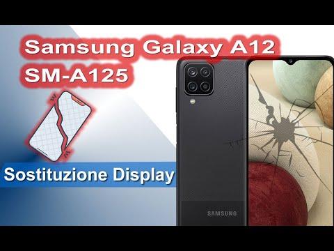 Samsung Galaxy A12 SM-A125 Sostituzione display e smontaggio completo Display Replacement