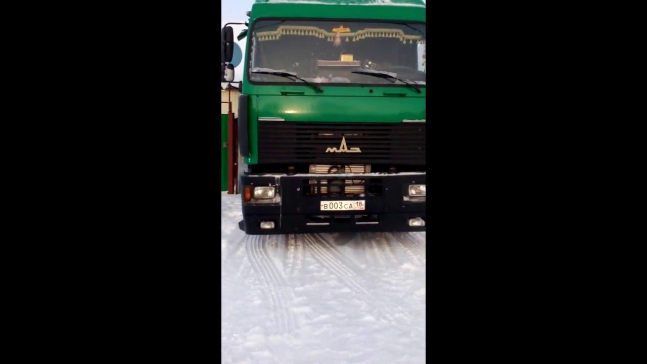 Стартовало производство нового тягача маз 5440м9.