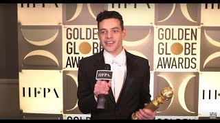 76th Golden Globes Winner Cam: Rami Malek