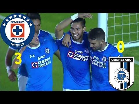 Cruz Azul (3) - (0) Querétaro | Jornada 5 | Clausura 2017 | Copa Mx | Resumen Completo