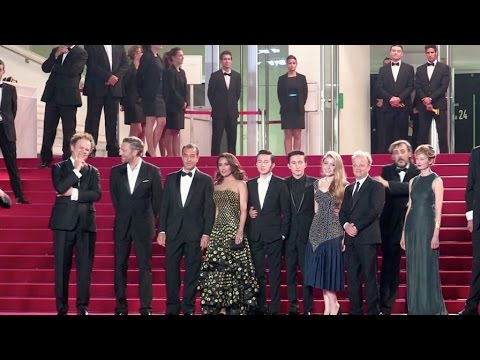 Film crew of the Tale of Tales red carpet of the 2015 Cannes Film Festival