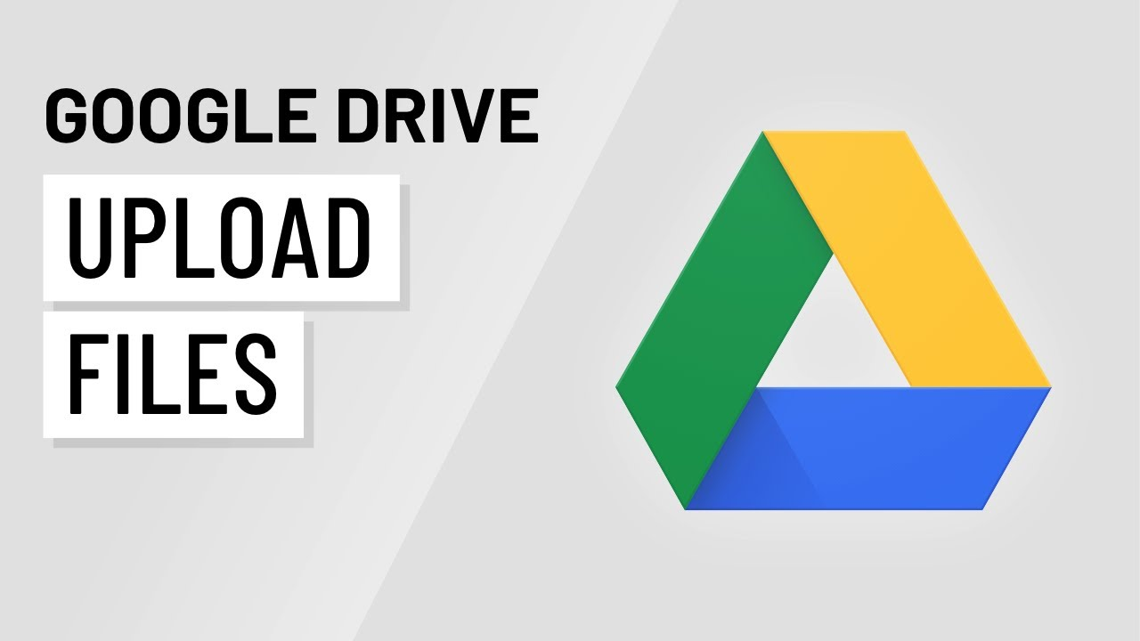 Google Drive Uploading Files Youtube
