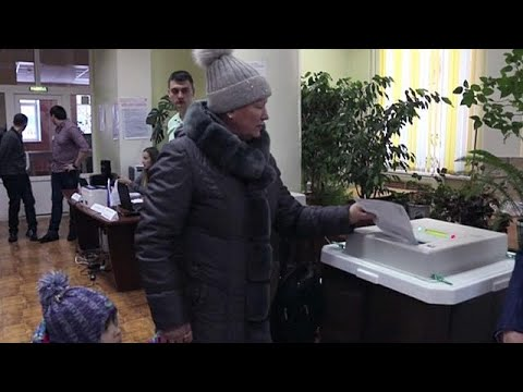 Voting underway in Russian presidential election
