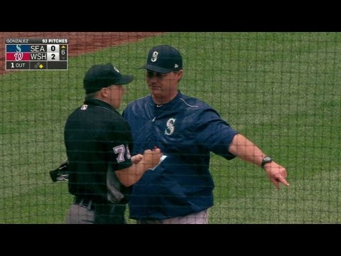 SEA@WSH: Servais gets ejected after arguing