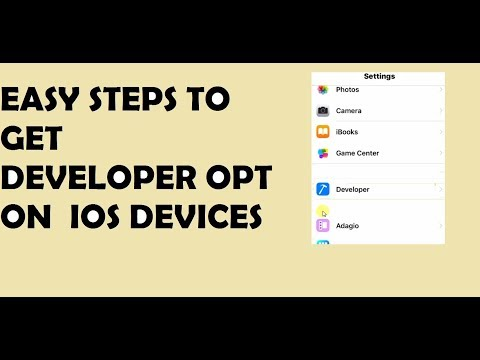 INSTALL DEVELOPER OPTION ON ANY IOS DEVICES (PART 2)