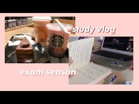Just A Chill Study Vlog