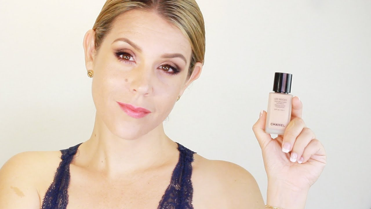 chanel les beiges healthy glow foundation review demo youtube. Black Bedroom Furniture Sets. Home Design Ideas