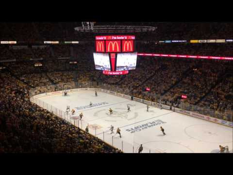 Deafening Nashville Predators Chants Playoffs 2017 HD