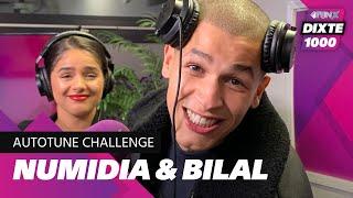NUMIDIA & BILAL WAHIB ON FIRE TIJDENS DE AUTOTUNE CHALLENGE | DIXTE 1000