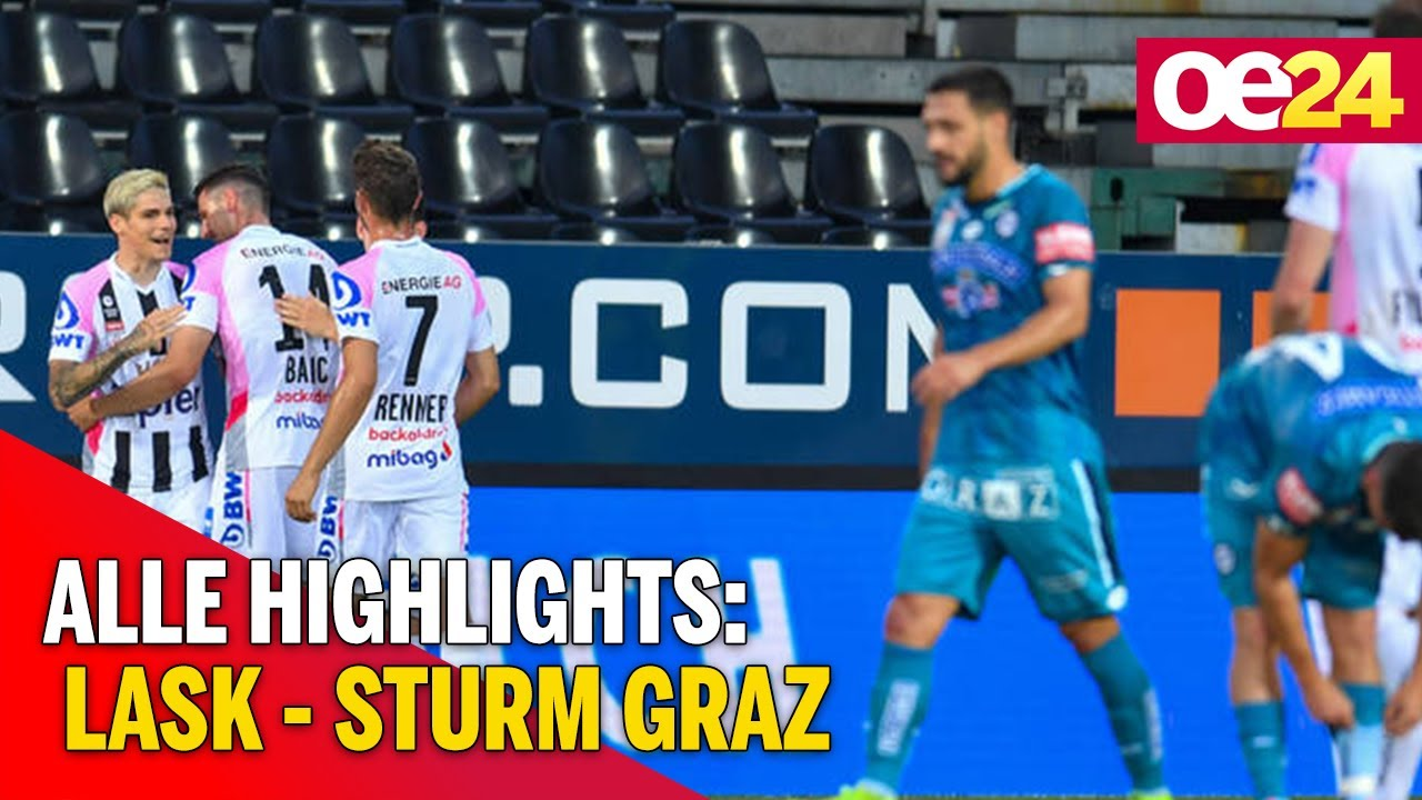Video Lask 4 0 Sturm Graz Tipico Bundesliga Austria 2020 06 17 Goals And Highlights Futbik Latest Football Videos Football Highlights And Football Matches