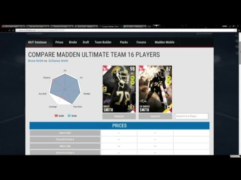 New Super Bowl Legends! 96 Overall Vernon Davis! 98 Overall Bruce Smith!-Madden 16 Ultimate Team