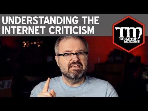Understanding the Internet Criticism