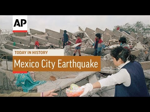 Mexico City Earthquake earthquake today