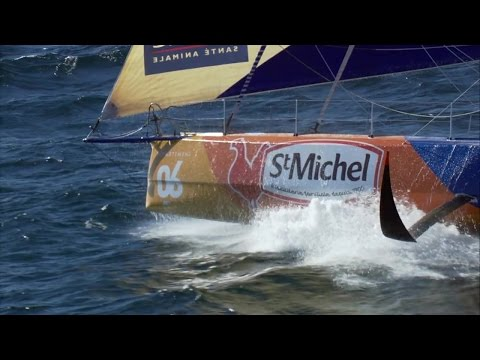 World on Water Vendee Globe Report Days 3 & 4 Nov11 16 Passing Madiera Heading South