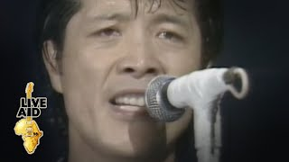 Eikichi Yazawa - Take It Time (Live Aid 1985)