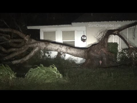 Sarasota FL Tornado and Storm Damage 1/17/2016