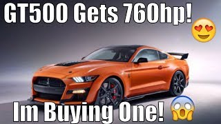 I'm Trading My Redeye! 2020 Shelby GT500 Gets 760HP!