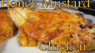 Atkins Diet Recipes: Low Carb Honey Mustard Chicken (IF)