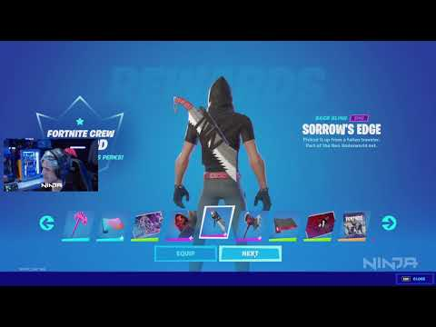 NINJA OPENS HIS FORTNITE ACCOUNT AFTER 3 MONTHS!! FORTNITE CHAPTER 2 SEASON 6...